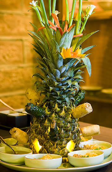 Junrei Restaurant, Pilgrimage Village - pineapple