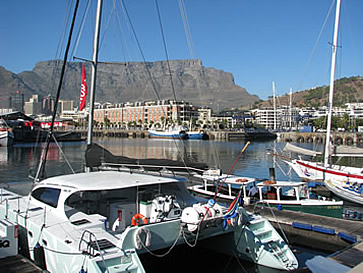 Cruise IQ catamaran, V&A Waterfront, Cape Town