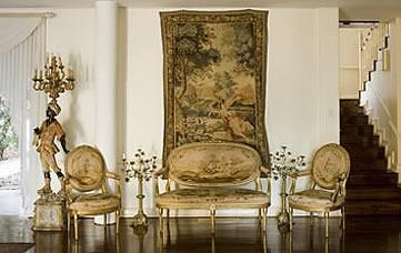 Illyria House Hotel, Pretoria, South Africa - Baroque furniture