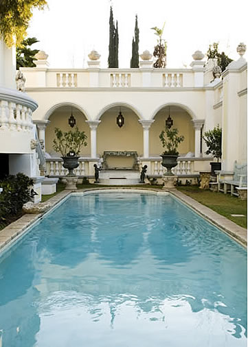 Illyria House Hotel, Pretoria, South Africa - swimming pool