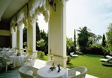 Illyria House Hotel, Pretoria, South Africa - terrace