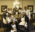 Illyria House Hotel, Pretoria, South Africa - the staff