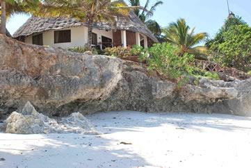 Ras Nungwi Beach Hotel, Zanzibar - view from the beach