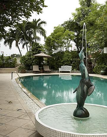 Chakrabongse Villas, Bangkok, Thailand - swimming pool