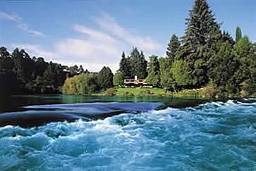 River, Huka Lodge, New Zealand