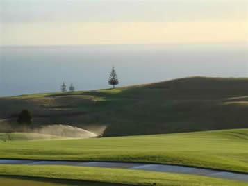 World-acclaimed golf course, Kauri Cliffs, New Zealand