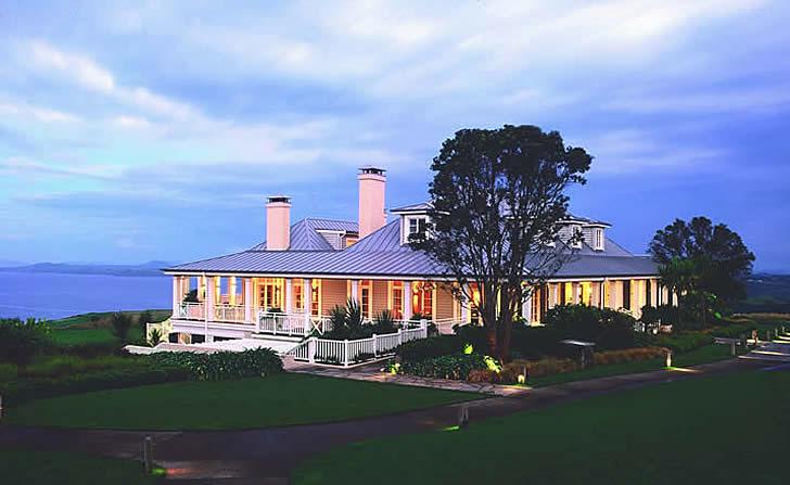 The Lodge, Kauri Cliffs, New Zealand