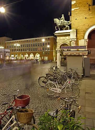 Ferrara, Italy - city of bicycles
