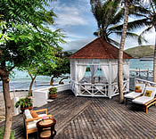 Turtle Beach Villas, St Kitts, Caribbean - gazebo