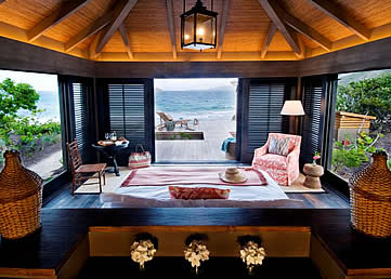 Turtle Beach Villas, St Kitts, Caribbean - beach view