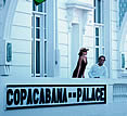 Copacabana Palace, Rio de Janeiro, Brazil - signage