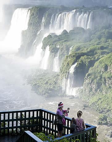 Hotel das Cataratas, Iguassu Falls, Brazil - helicopter