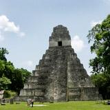 Guatemala, Mayan temple