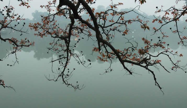 Vietnam, Hanoi Hoan Kiem lake