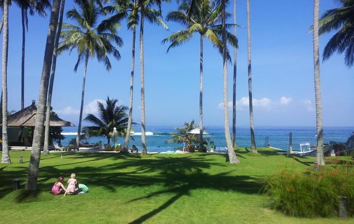 Villa Citakara Sari, East Bali, Indonesia - pool exterior