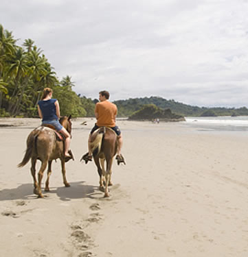 Arenas Del Mar, Manuel Antonio - horse riding