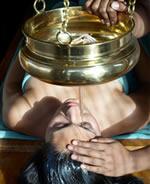 Shanti Maurice Spa, chirodara treatment