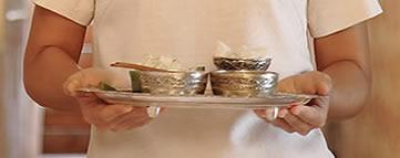 Mandarin Oriental Dhara Dhevi, Chiang Mai, silver bowls