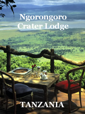 Ngorongoro Crater Lodge, Tanzania - a wildlife African safari