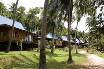 Koh Talu Island Resort, Ban Saphan, Thailand - bungalows