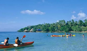 Koh Talu Island Resort, Ban Saphan, Thailand - kayaking