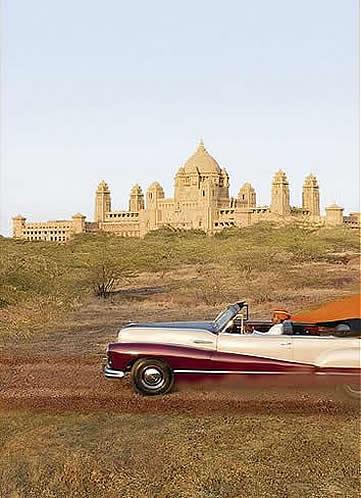 India, Jodhpur, Umaid Bhawan Palace