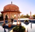 India, Jaipur, Hotel Oberoi Rajvilas entrance, photographer Steven Hummel