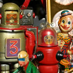 Antique robots, London