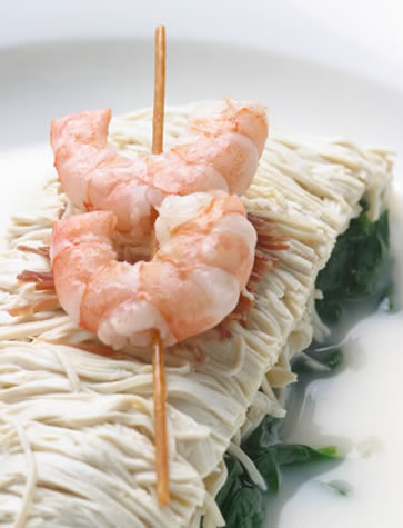 Prawns at Whampoa Club, Shanghai, Gourmet China tour