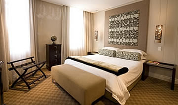 The Grand Daddy Hotel, Cape Town, bedroom suite