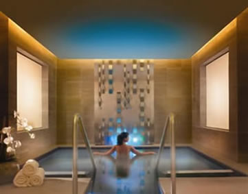 One&Only Hotel, Cape Town, spa heat room