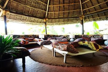 Ras Nungwi Beach Hotel, Zanzibar - sitting room