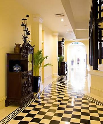 Raffles Le Royal, Phnom Penh, Cambodia - corridor