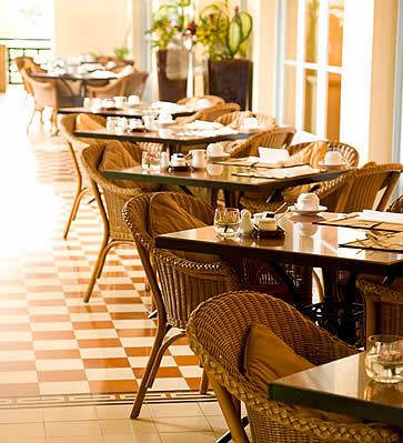 Raffles Le Royal, Phnom Penh, Cambodia - tea and cafe
