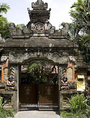 Bali Pavilions, Sanur, Bali, Indonesia - walkway