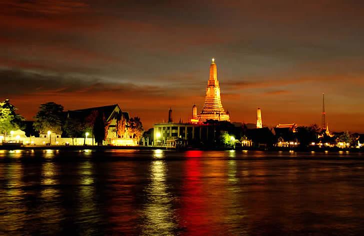Chakrabongse Villas, Bangkok, Thailand - river view