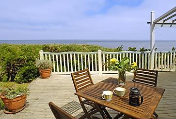 The Artist's Beach House, Whitstable - veranda