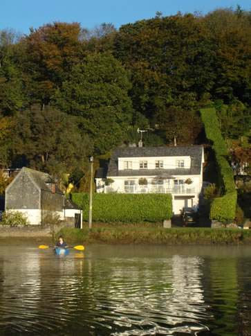 Waters Reach, Lerryn, Cornwall - view from river