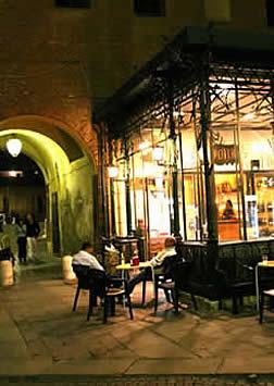 Ferrara, Italy - castle at night