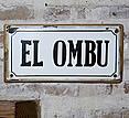 Estancia El Ombu, San Antonio de Areco, Argentina - signage
