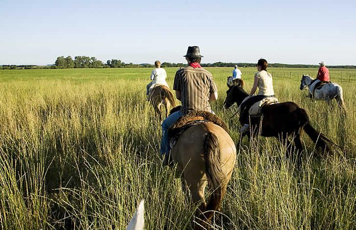 Estancia El Ombu, San Antonio de Areco, Argentina - horseriding