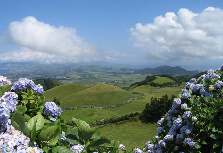 Azores, hill view