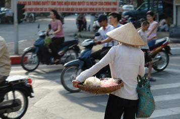 Vietnam, Hanoi traffic
