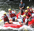 Costa Rica Family Vacations, Naranjo river rafting