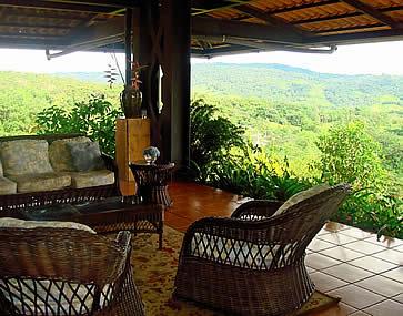 Hotel Arenal Kioro, La Fortuna - view